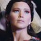 A sneak peak of the make up from Catching Fire